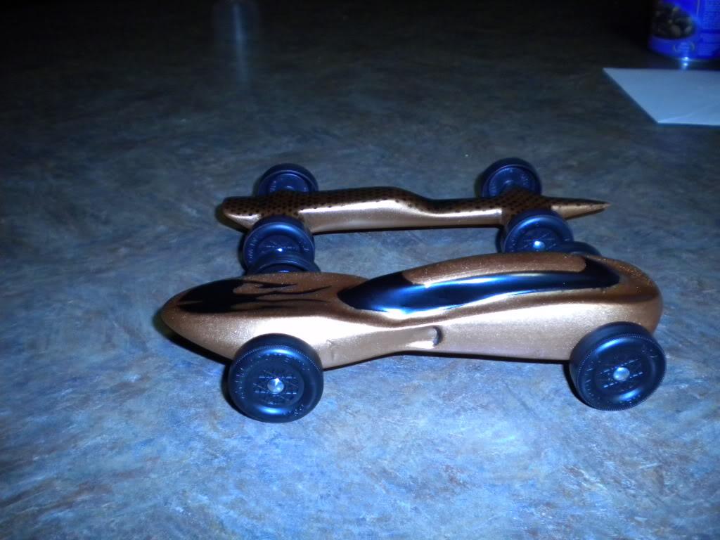 Best Aerodynamic Design For Pinewood Derby Car